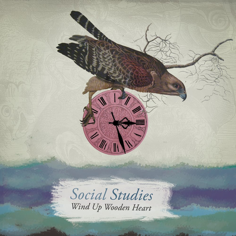 Social Studies - Wind Up Wooden Heart