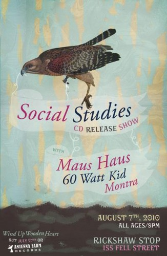 Social Studies Record Release Party!
