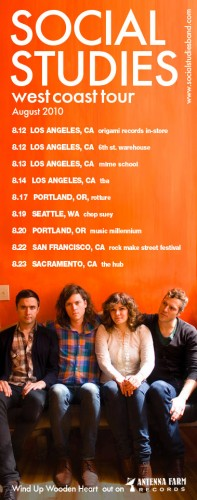 Social Studies West Coast Tour